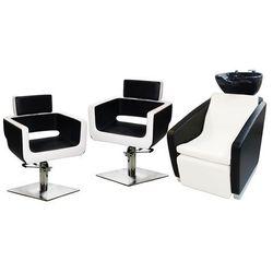 Zestaw Mebli Fryzjerskich - Myjnia Vasto + 2 x Fotel Rossario