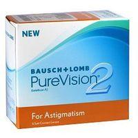 Soczewki kontaktowe, PureVision 2 Toric - 6szt