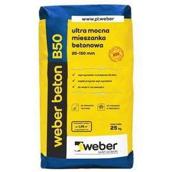 Wylewka betonowa Weber B50 25 kg