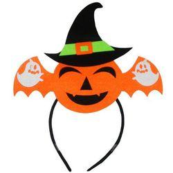 Dekoracja SWEDE Halloween Opaska Nietoperz