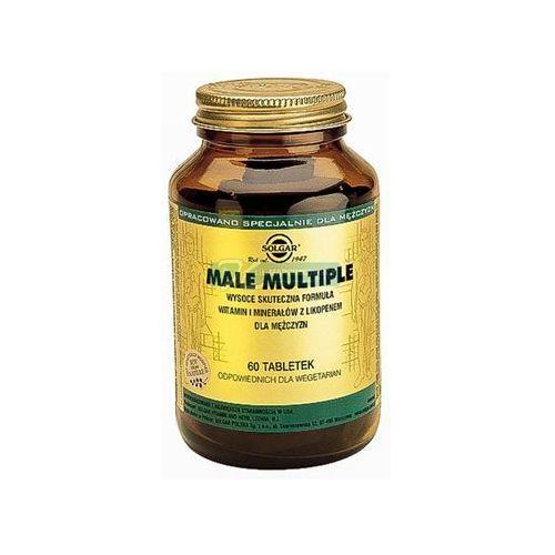 Witaminy i minerały, SOLGAR Male Multiple witaminy i minerały dla mężczyzn