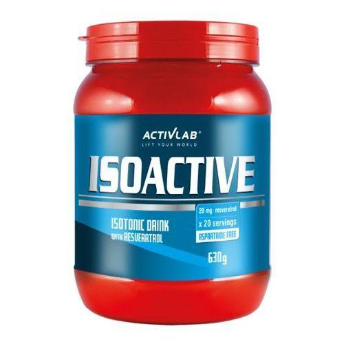 Odżywki węglowodanowe, ACTIVLAB Isoactive - 630g Wiśnia