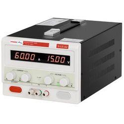 Stamos Soldering Zasilacz laboratoryjny - 0-15 V - 0-60 A DC S-LS-42 - 3 LATA GWARANCJI