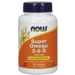 NOW FOODS Super Omega 3-6-9 1200mg - 90 kapsułek