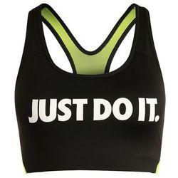 Nike Performance PRO CLASSIC SWOOSH COOLING Biustonosz sportowy black/volt/white