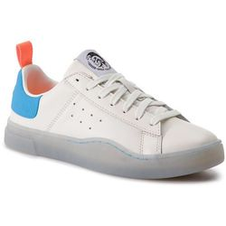 Sneakersy DIESEL - S-Clever Low Y01748 P2282 H7099 Star White/Light Blu