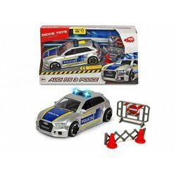 Pojazd SOS Policja Audi RS3 15 cm