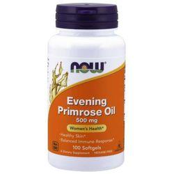 Now Foods Olej z Wiesiołka (Evening Primrose Oil) 500 mg 100 kapsułek - 100 kapsułek