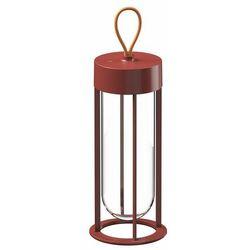 IN VITRO-Lampa LED zewnętrzna bezprzewodowa Szkło/Aluminium Wys.30cm