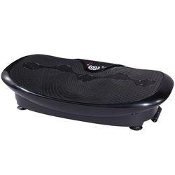 Platforma wibracyjna fitness PERSES — opcje MP3 — 30 prędkości — czarna