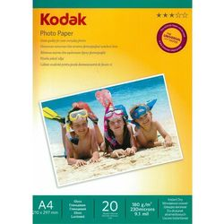 Papier KODAK Inkjet 180g Super Glossy A4