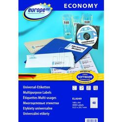 Etykiety Economy Europe100 52,5 x 29,7mm 100 ark./op. ELA049