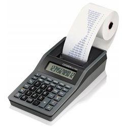 Kalkulator drukujący CITIZEN CX-77BNN, 12-cyfrowy, 200x102mm, czarno-antracytowy