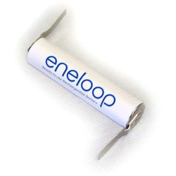 1 x Panasonic Eneloop R03/AAA 800mAh z przygrzanymi blaszkami typ:U