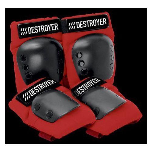 Ochraniacze na ciało, ochraniacze DESTROYER - Rec Grom Red (RED) rozmiar: OS