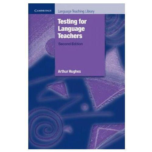 Książki do nauki języka, Testing For Language Teachers (opr. miękka)