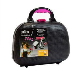 KLEIN Kuferek fryzjerski z Braun Satin Hair 7 Suszarka do włosów 5872