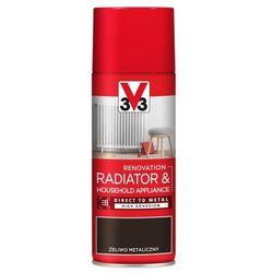 Spray V33 AGD żeliwo metaliczny 0,4 l
