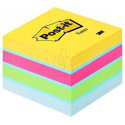 Karteczki samoprzylepne Post-it, mini-kostka, mix kolorów, 51x51mm, 400k, 2051-U