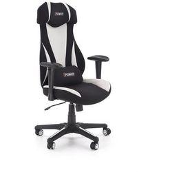 Fotel dla gracza gamingowy HALMAR ABART biały/czarny