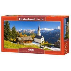 Puzzle 600 elementów, Kościół Marterle, Karyntia, Austria