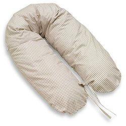 MAMO-TATO Poduszka dla ciężarnych kobiet Krateczka brązowa