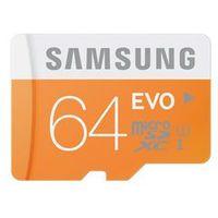 Karty pamięci, Samsung karta pamięci micro SDXC 64GB Class 10 Evo (transfer up to 48MB/s)