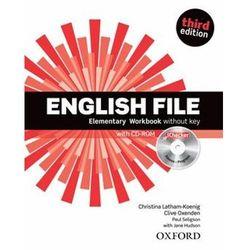English File New 1 Elementary. Ćwiczenie bez klucza. Trzecia Edycja (opr. miękka)