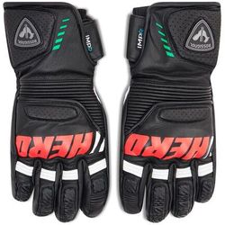 Rękawice narciarskie ROSSIGNOL - Wc Pro Race Lth Impr G RLIMG09 Black 200
