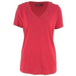 Shirt 2 w 1 z krótkim rękawem bonprix czarno-jeżynowy
