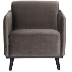 Be Pure Fotel Statement velvet ciemnooszary 378670-12