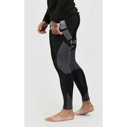 GymBeam Męskie legginsy Flex Tights Black Grey