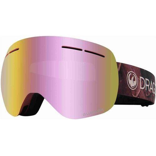 Kaski i gogle, gogle snowboardowe DRAGON - Dr X1S Bonus Rose Llpinkion+Llrose (651) rozmiar: OS