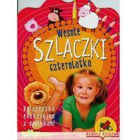 Książki dla dzieci, Wesołe szlaczki czterolatka (opr. miękka)