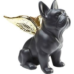 KARE Design :: Figurka Sitting Angel Dog czarno-złota Kare -20% (-20%)