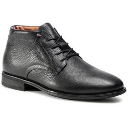Trzewiki TOMMY HILFIGER - Technical Comfort Leather Boot FM0FM03062 Black BDS