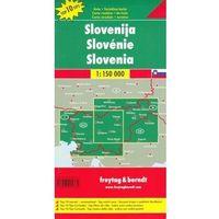 Mapy i atlasy turystyczne, Słowenia 1:150 000. Mapa samochodowa, składana. Freytag&Berndt (opr. twarda)