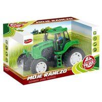 Traktory dla dzieci, Moje Ranczo -Traktor plastikowy. B/O PL 22cm
