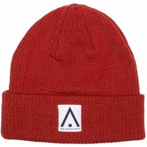 Nakrycia głowy i czapki, czapka zimowa CLWR - Y Beanie Red (700)