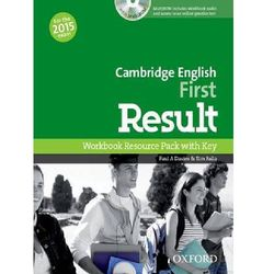 Cambridge English First Result WB Resource Pack+key 2015
