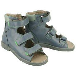 eada9eab DAWID 952 granat/granat/popiel, obuwie profilaktyczne dziecięce, rozmiary  31-36