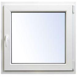 Okno PCV rozwierno-uchylne 865 x 835 mm prawe
