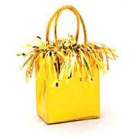 Opakowania prezentowe, Obciążnik do balonów napełnionych helem Mini torebka prezentowa żółta - 178 g.