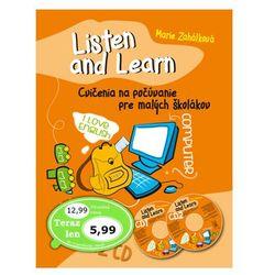 Listen and Learn Cvičenia na počúvanie pre malých školákov + 2 CD Marie Zahálková