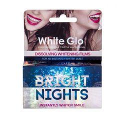 White Glo Bright Nights Whitening Films zestaw 6 szt unisex