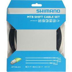 Zestaw linek i pancerzy przerzutkowych SHIMANO MTB Optislik czarny Przy złożeniu zamówienia do godziny 16 ( od Pon. do Pt., wszystkie metody płatności z wyjątkiem przelewu bankowego), wysyłka odbędzie się tego samego dnia.