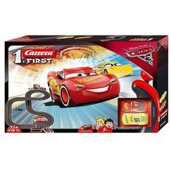 FIRST Disney Cars 3 - Carrera. DARMOWA DOSTAWA DO KIOSKU RUCHU OD 24,99ZŁ