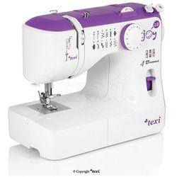 Maszyna do szycia TEXI Joy 13 Purple - idealna na początek + igły + stopki