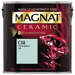 Farba Ceramiczna Magnat Ceramic C38 Szmaragdowy Tytoń 2.5l