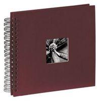 Fotoalbumy, Hama Album fotograficzny FINE ART 36X32/50 bordowy